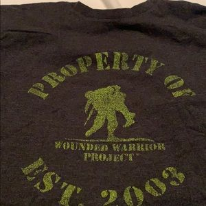 UA wounded warrior t-shirt